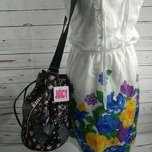 Juicy Couture Melrose bucket bag crossbody floral
